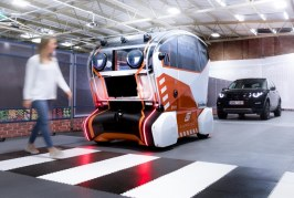 Jaguar Land Rover's Virtual Eyes and Intelligent Pods study trust in self-driving vehicles
