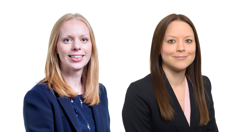 Emily Leonard, Managing Associate, and Hannah Gardiner, Solicitor at law firm Womble Bond Dickinson