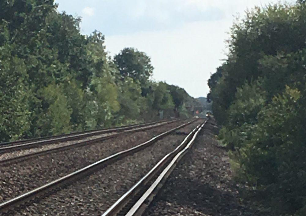 Bumpy track near Keymer Junction