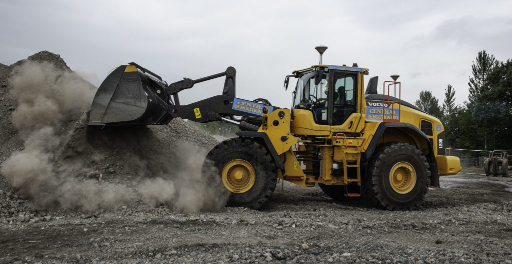 Bonnybridge's Central Demolition expands with VolvoCE