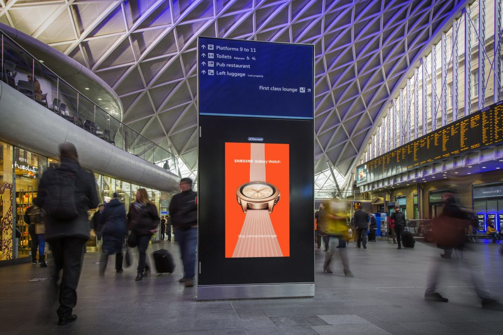 Network Rail and JCDecaux £280m advertising deal to transform passenger experience