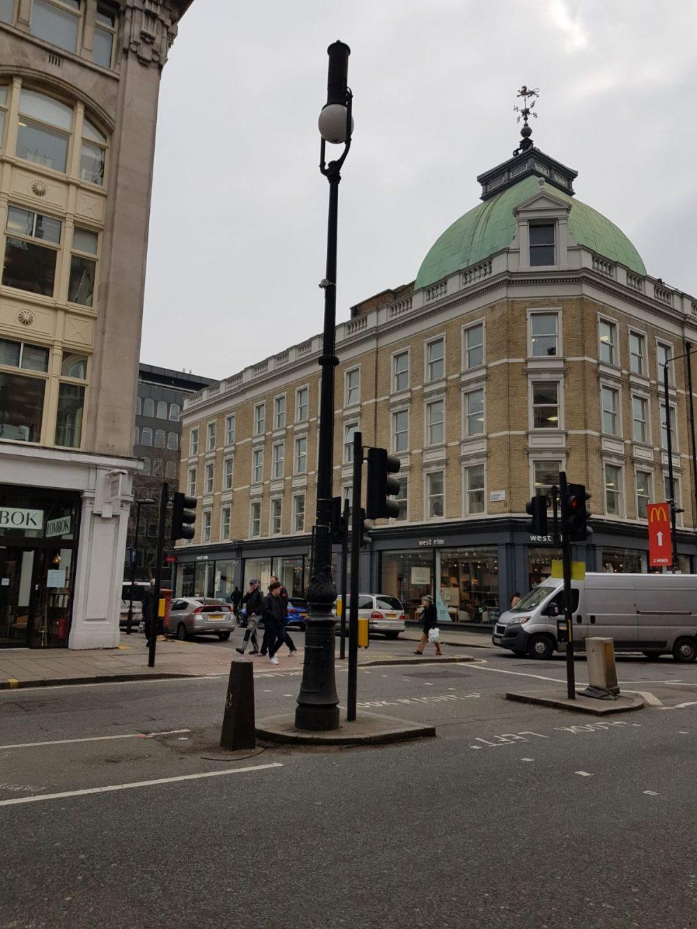 New LED street lights brighten up Camden Town