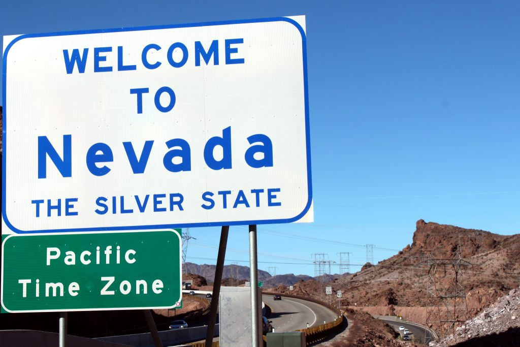 Nevada Road Sign - Photo by Prayitno