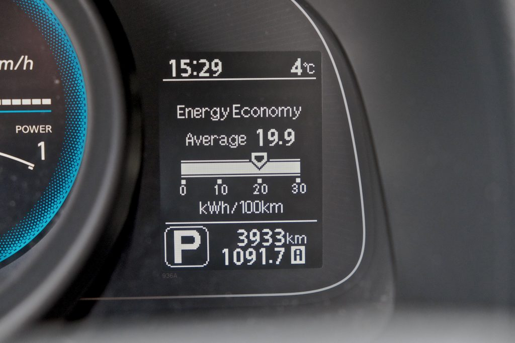 Nissan eNV200 Evalia Panel - Photo by Kārlis Dambrāns
