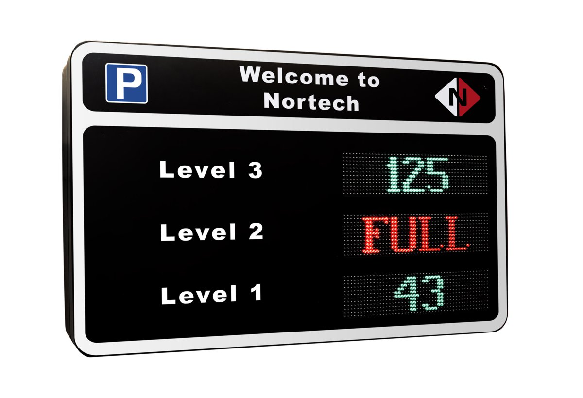 Nortech launches colour LED VMS Variable Message Signs