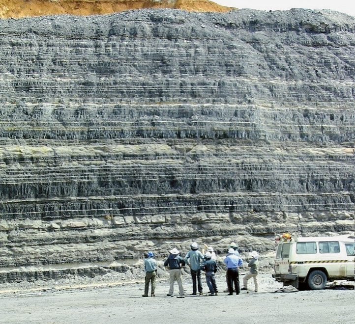The Australian mine has up to 27, mostly thin, coal seams.