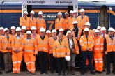 New GB Railfreight locomotive christened by The Worshipful Company of Paviors