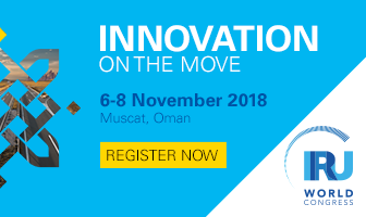 Innovation on the move - IRU World Congress 6-8 Nov 2018, Muscat, Oman