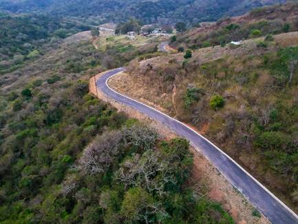 EASIER TRAVELLING: Access roads in Ndwalane and Caguba villages near Port St Johns have been completed.