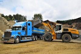 Greywacke extraction specialist Günter Jung relies on Liebherr XPower