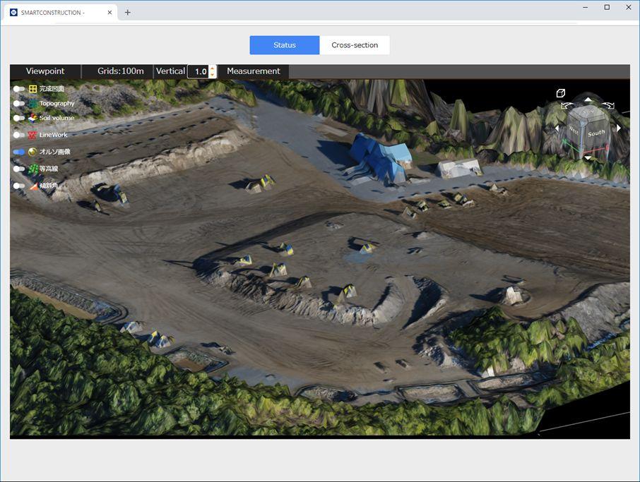 3D terrain viewer