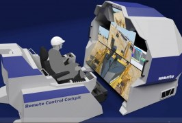 Komatsu showcases new technologies at CEATEC JAPAN