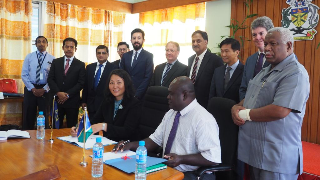 Solomon Islands signs ADB grant to improve transport projects