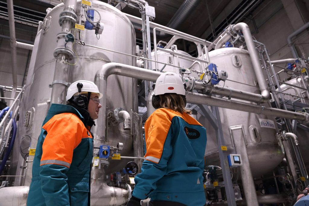 Approximately 60% the world's liquid gas and 75% of pulp flows through Metso's valves.