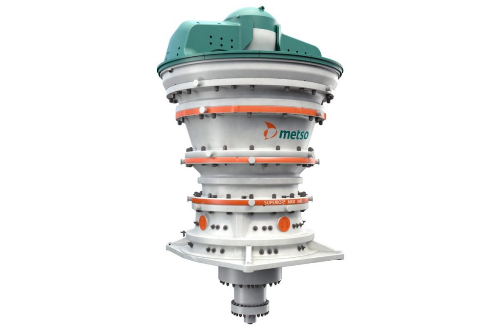 Peak performance from Metso's new Superior MKIII primary gyratory crusher