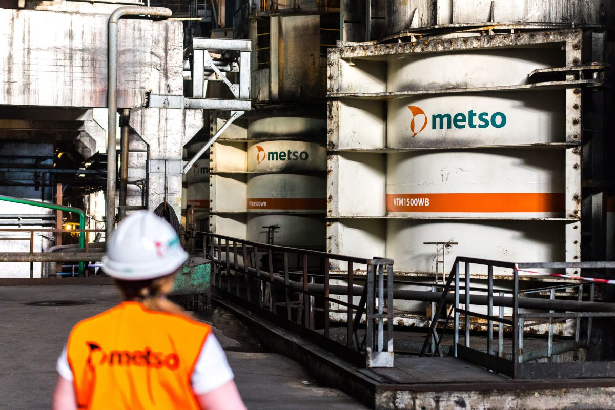 Metso Outotec ranked 8th in the list of 100 global sustainable companies