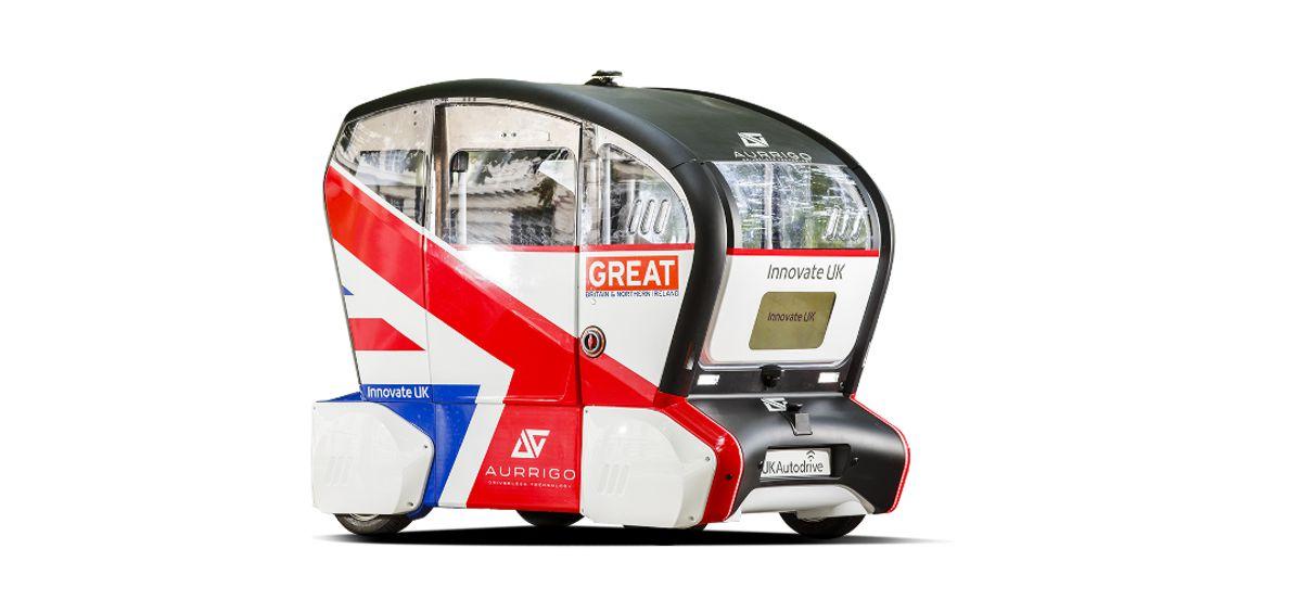 Autonomous Pods come to Edinburgh