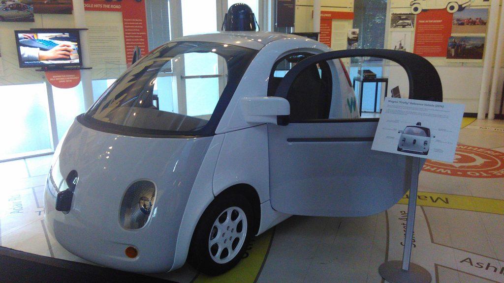 Autonomous Car - Photo by Andrés Gómez García