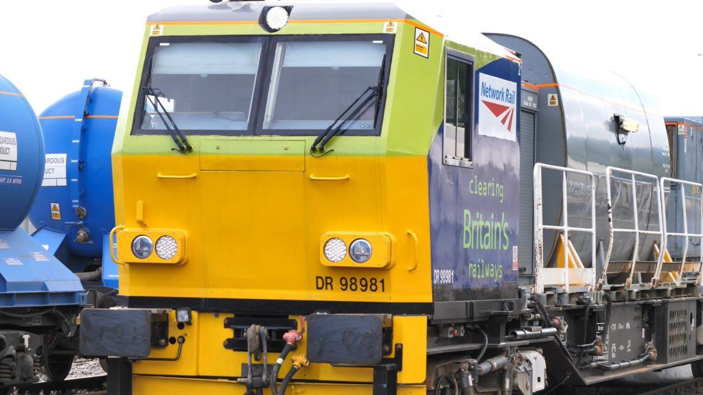 Network Rail leaf-busting trains travel 4 times around the earth to tackle leaves on the line