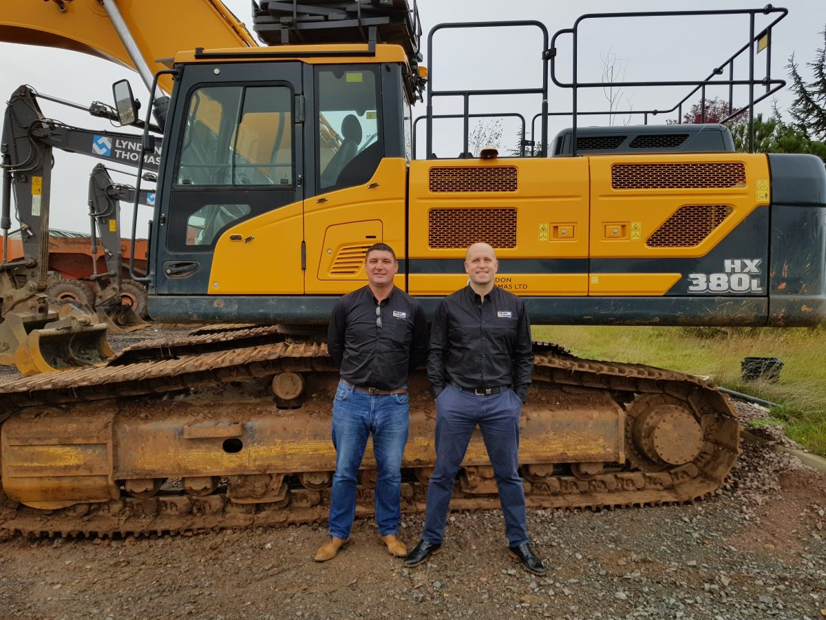 TBS Plant appointed Hyundai construction equipment dealer