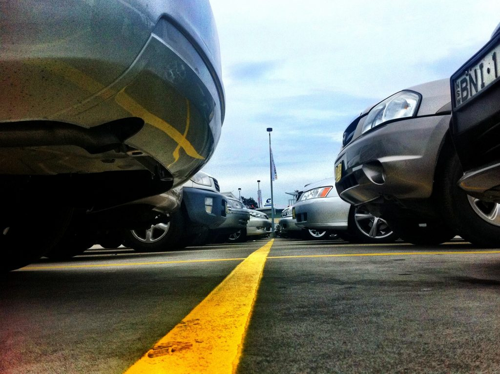 Car Park - Photo by Chris Betcher