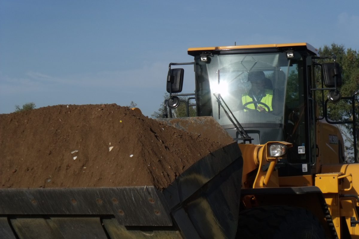 Testing soils in construction