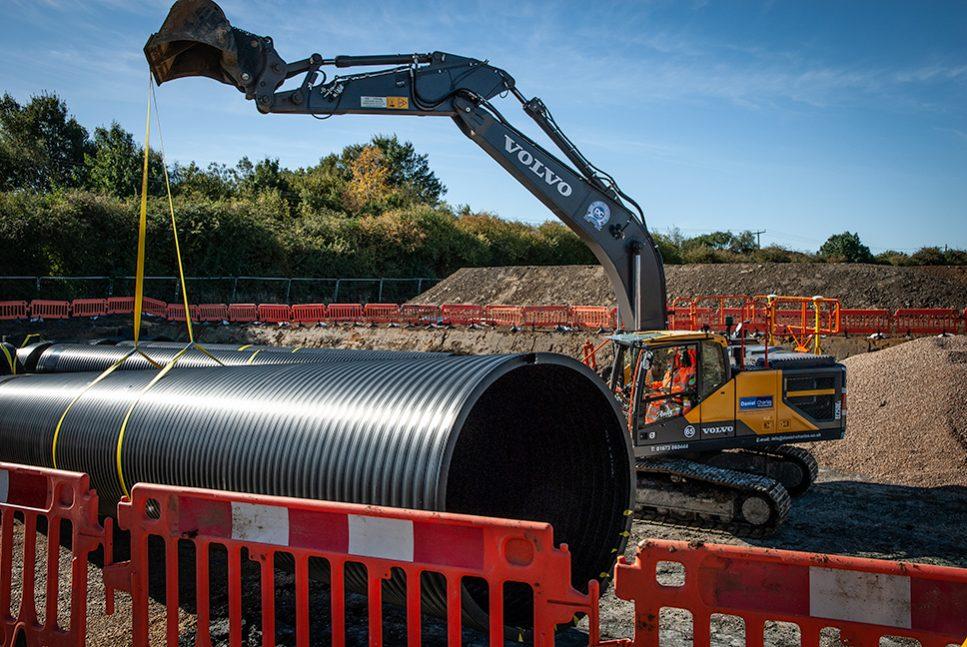 New Volvo Excavators for the Daniel Charles Construction fleet