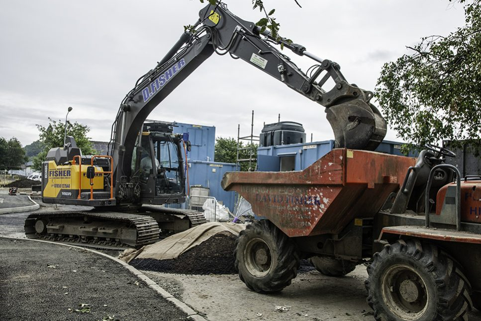David Fisher Contracting upgrading to the Volvo EC140E