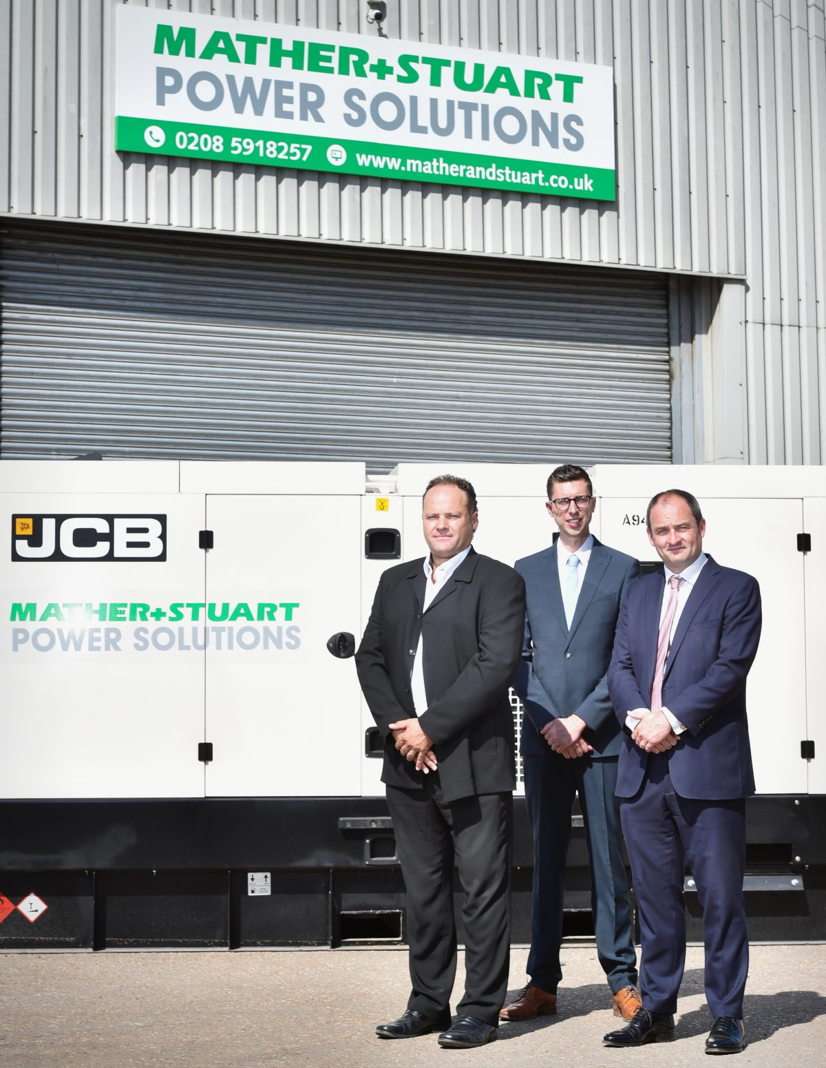 Mather + Stuart expand with £4.5 million JCB Generator order