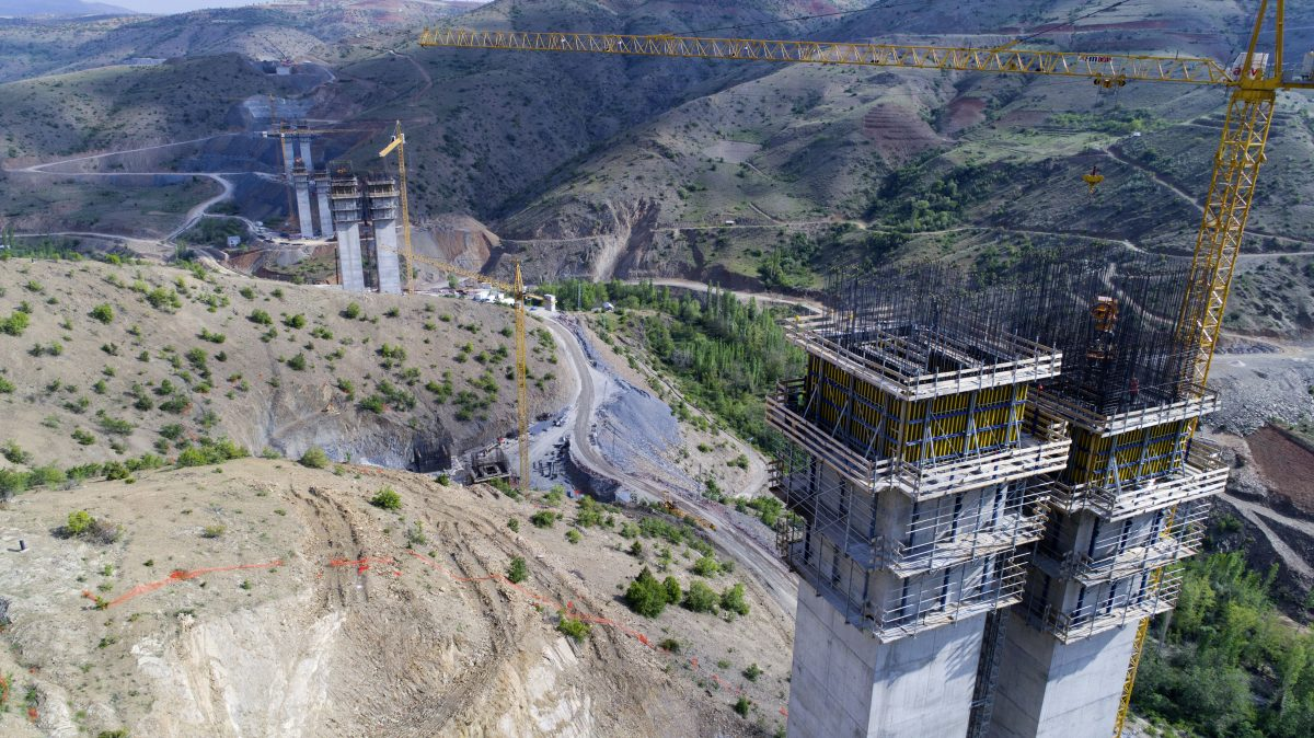 Doka enables a record breaking Eyiste Viaduct project in Turkey
