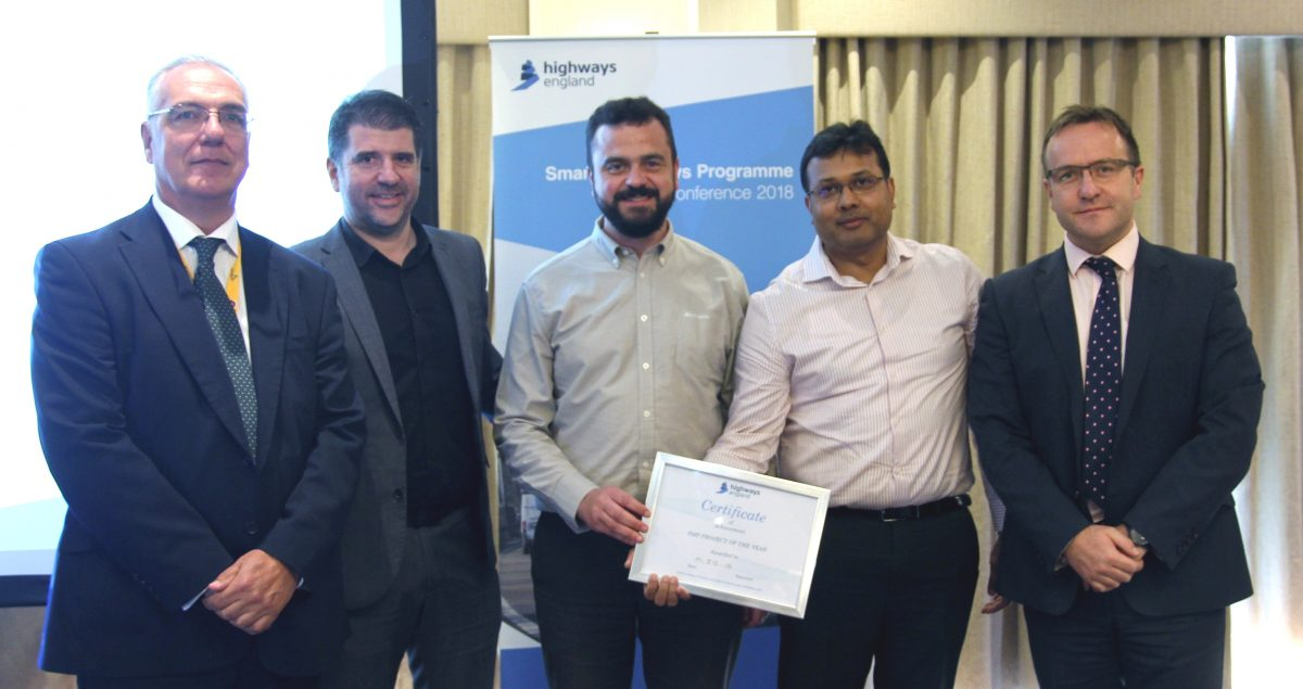 Galliford Try and Costain win Smart Motorway Award