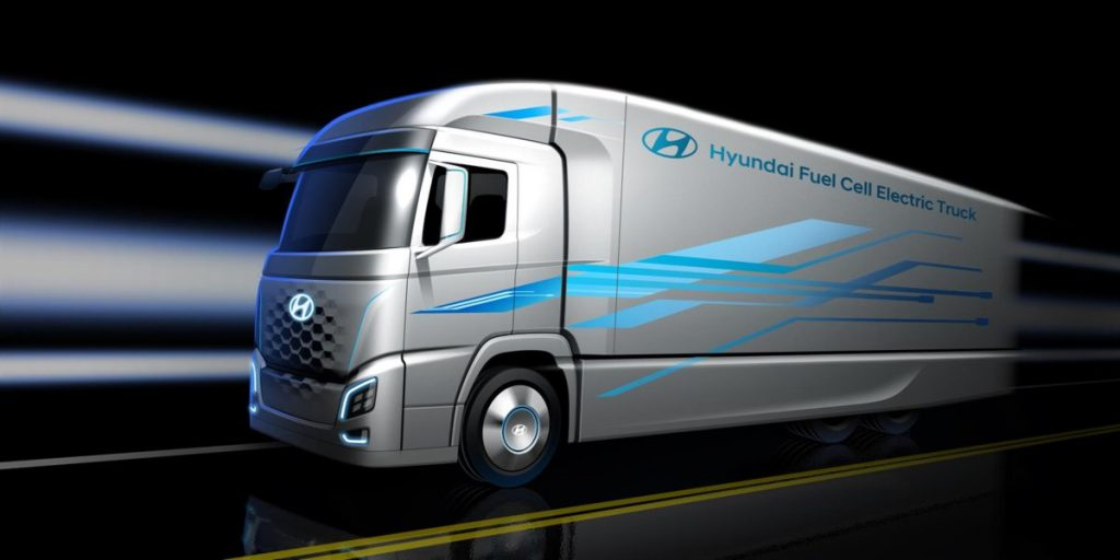 Hyundai presents new Truck Fuel Cell Powertrain