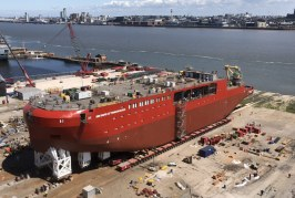 Polar research vessel RRS Sir David Attenborough relied on ALE