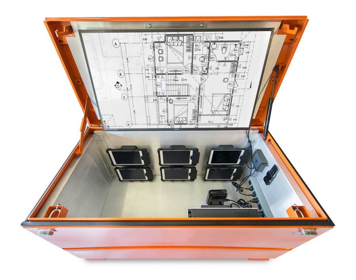 PCM Digital Job Box transforms construction site management and communications