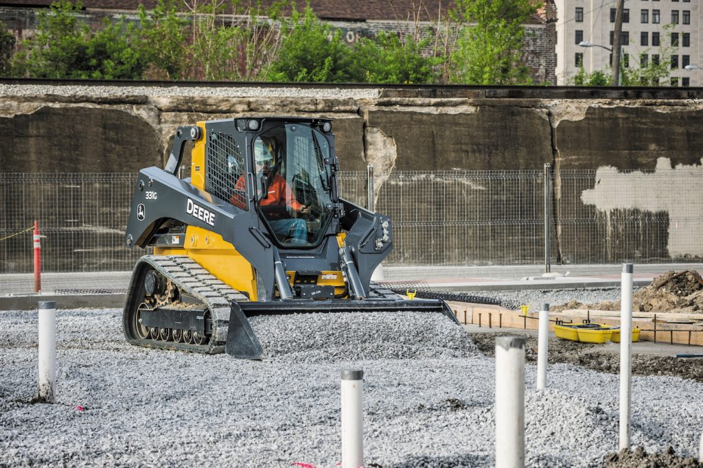 John Deere intros on-board Grade Indication on G-Series Skid Steers and Track Loaders