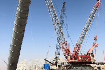 ALE quickly mobilises largest-ever capacity cranes for Karbala Refinery in Iraq