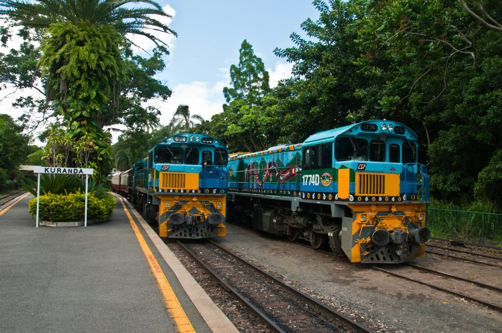 Trains at Kuranda - Photo by Graeme Churchard