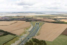 Lower Thames Crossing to boost road capacity by 90 percent