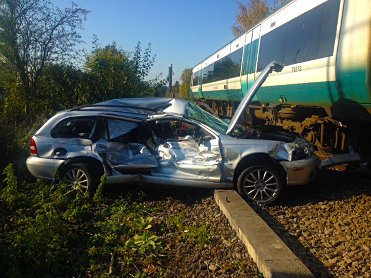 One in every seven drivers dice with death at Railway Level Crossings every day