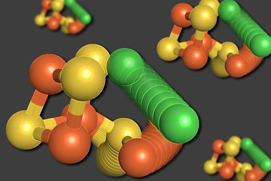 MIT Chemists discover unexpected enzyme structure that breaks down carbon dioxide