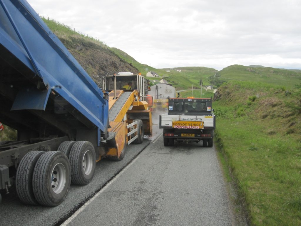 Paving Skye - Phot by Glen Wallace