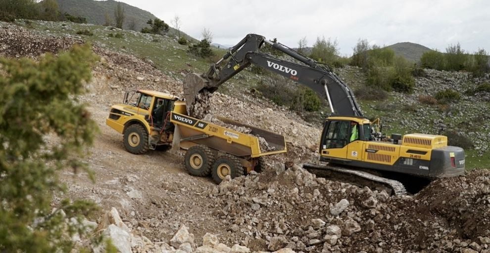 VolvoCE provides extra energy for TAP Pipeline Project