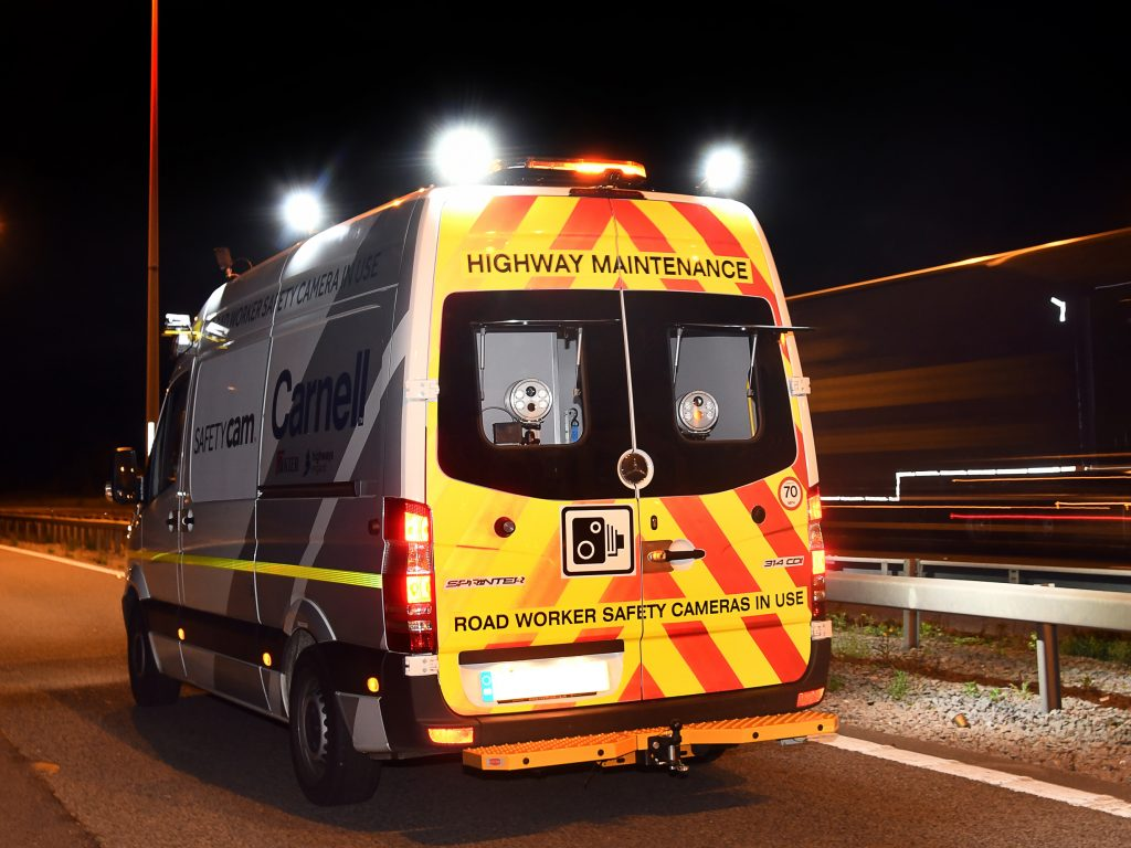 A SafetyCam vehicle, a previous winner of a Highways England award