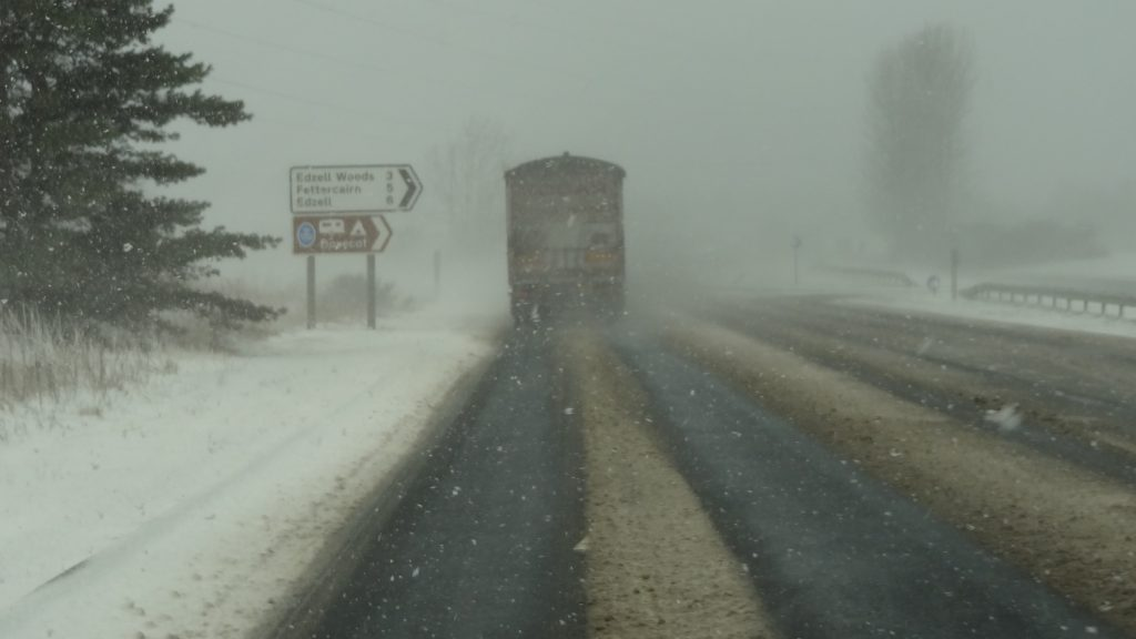 Snow driving - Photo by Iain Cameron