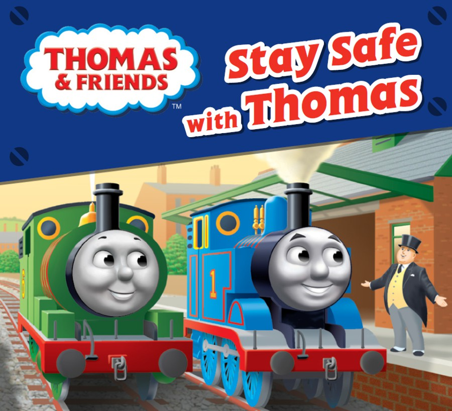 Network Rail partners with Thomas the Tank Engine to teach children railway safety