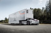 Volvo presents future transport solution with autonomous electric trucks