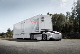 Volvo presents future transport solution with autonomous electric trucks