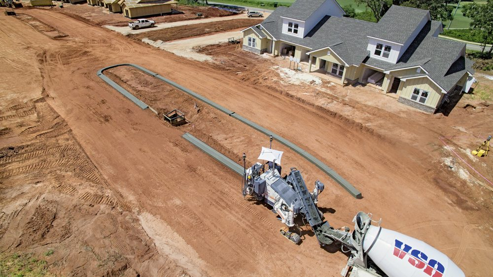 "Wirtgen technologies enabled us to produce the concrete profiles even more quickly and precisely."" Chad Ammons, Project Manager, Ammons & Blackmon Construction LLC"