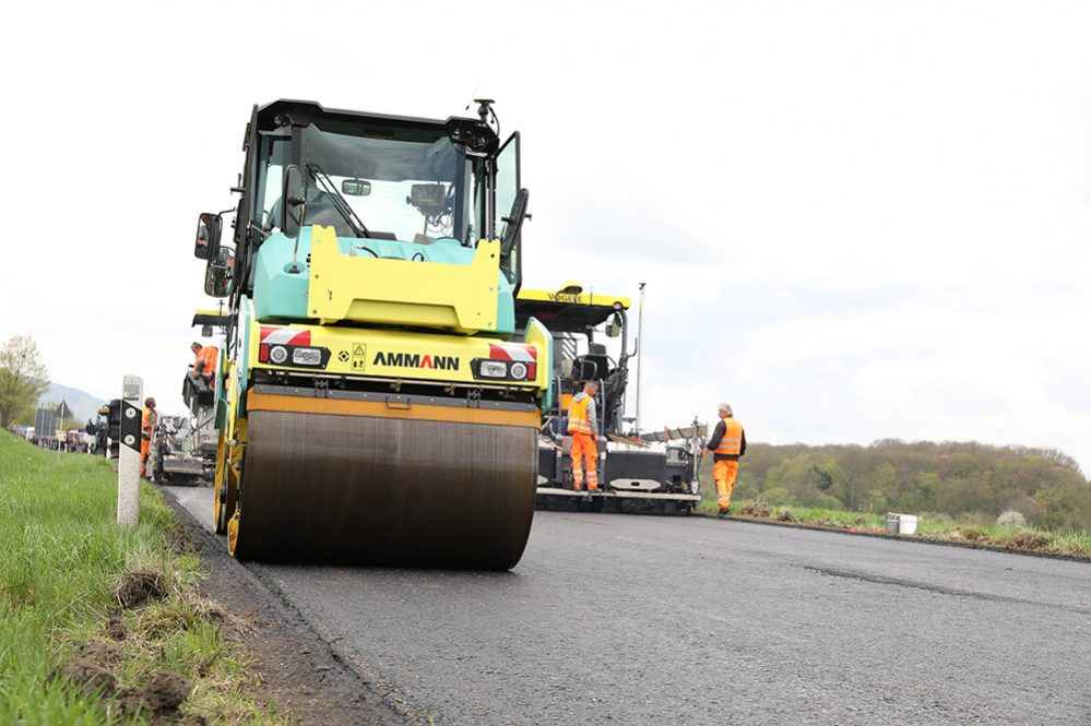 Smart Machines herald a digital future for Road Construction Rollers