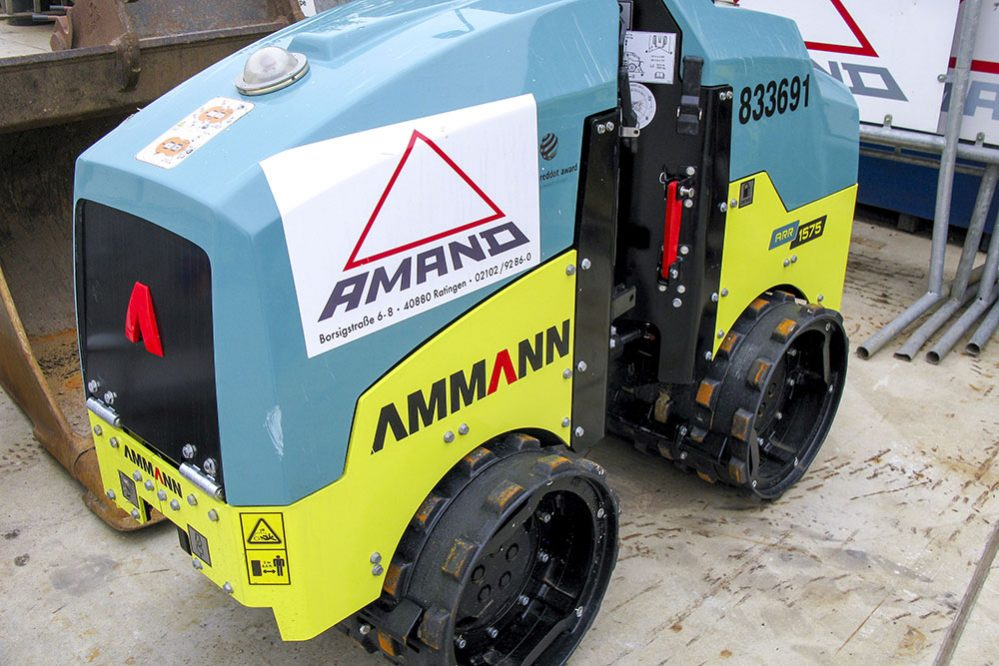 Construction and environmental specialist Amand invests in Ammann Compactors
